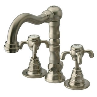 Ornellaia mini-widespread lavatory faucet with cross handles - Chrome