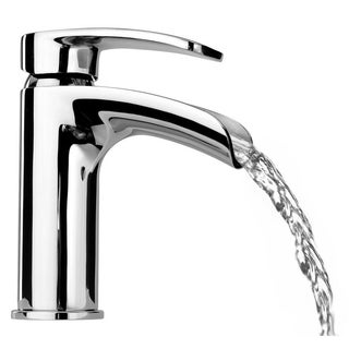 Ovo small waterfall single handle lavatory faucet - Chrome (2 options available)