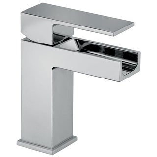Dax waterall single handle lavatory faucet - Chrome (2 options available)