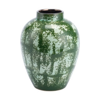 Porch & Den Sarah Large Green Vase
