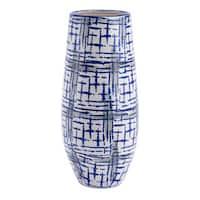 Rioja Large Vase Blue & White