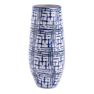 Porch & Den Large Blue and White Vase