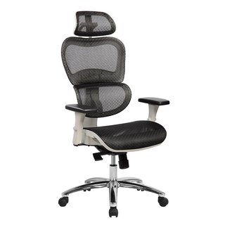 Urban Designs Deluxe High Back Mesh Office Executive Chair With Neck Support