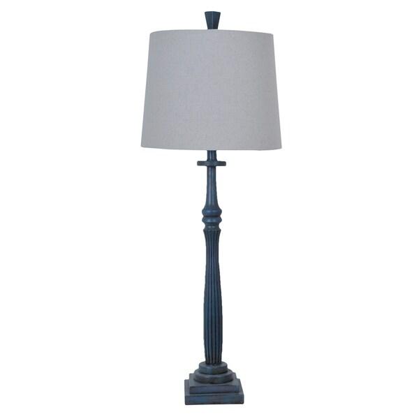Hudson Rustic Wood 38-inch Table Lamp