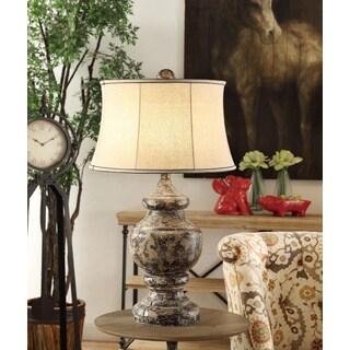 Antique Corbel Antique Black 34.5-inch Table Lamp