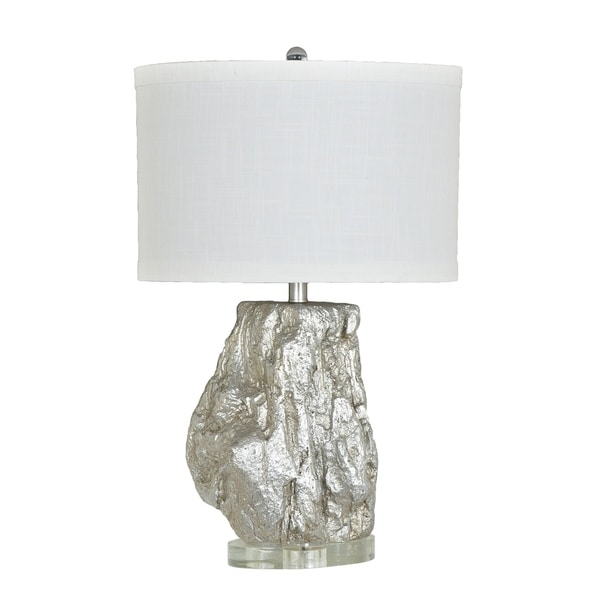 Cormac Silver Leaf 27-inch Table Lamp