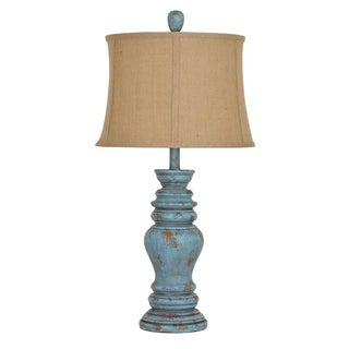 Barclay Antique Turquoise 30-inch Table Lamp
