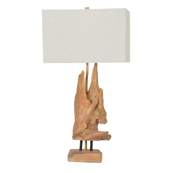 Driftwood Natural Wood 28.5-inch Table Lamp