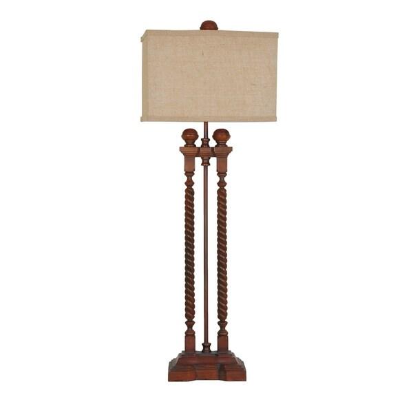 Baldwin Rich Wood 42.5-inch Table Lamp