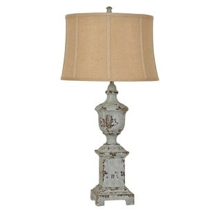 French Heritage French Blue 34-inch Table Lamp