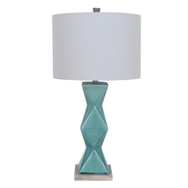 Tristine Soft Green 32-inch Table Lamp