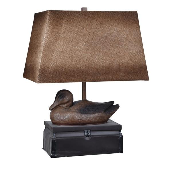 Vintage Duck Antique Duck 26-inch Table Lamp
