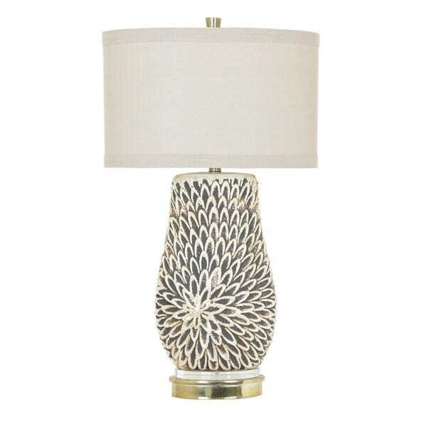 Sierra White Pearl 32-inch Table Lamp