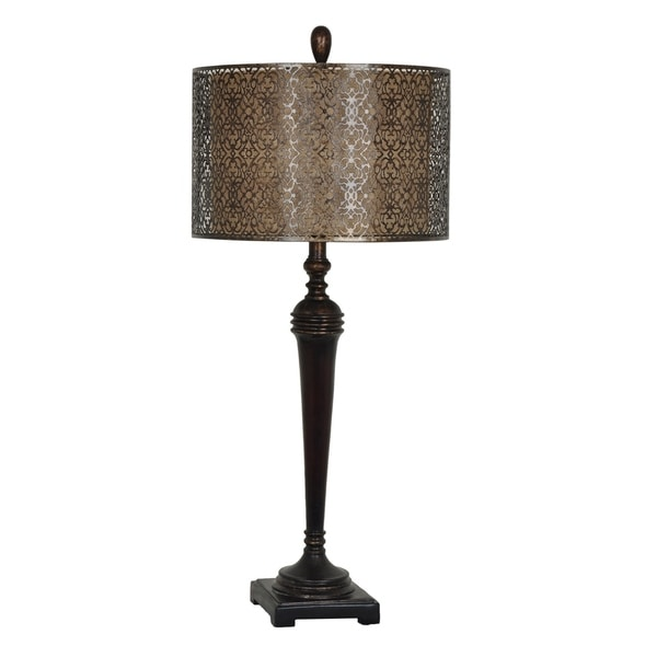 West Mire Bronze 33-inch Table Lamp