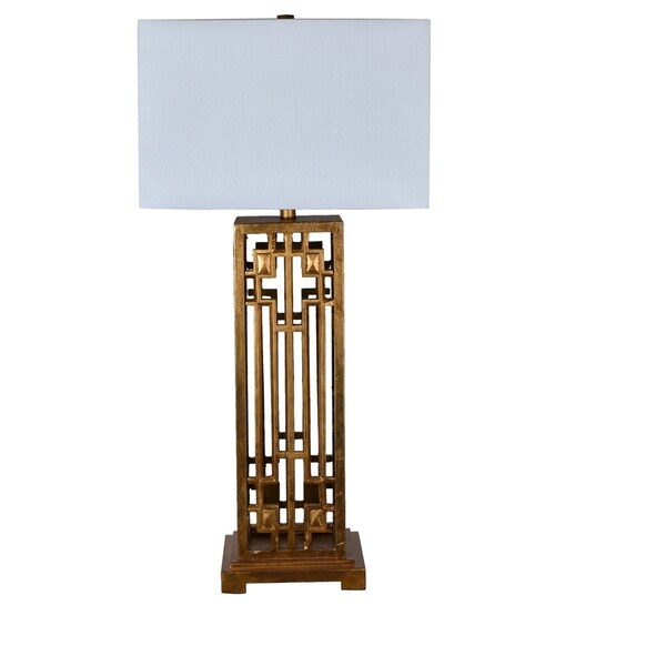 Montgomery Gold Leaf 36-inch Table Lamp
