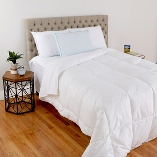 Hanes Cool Comfort Memory Foam/Down Alternative Hypoallergenic Jumbo Pillow - White