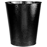 Hammered 5 Liter Waste Bin (Black)