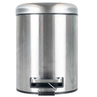 Stainless Steel 5 Liter Waste Bin with Dome Top