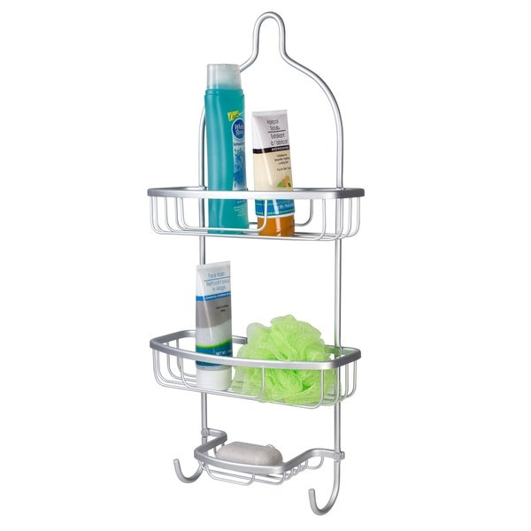 Aluminum Shower Caddy - Free Shipping On Orders Over $45 - Overstock ...