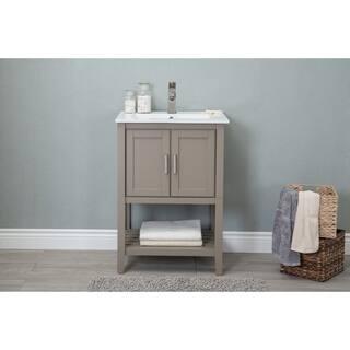 Buy Beige Bathroom Vanities Vanity Cabinets Online At