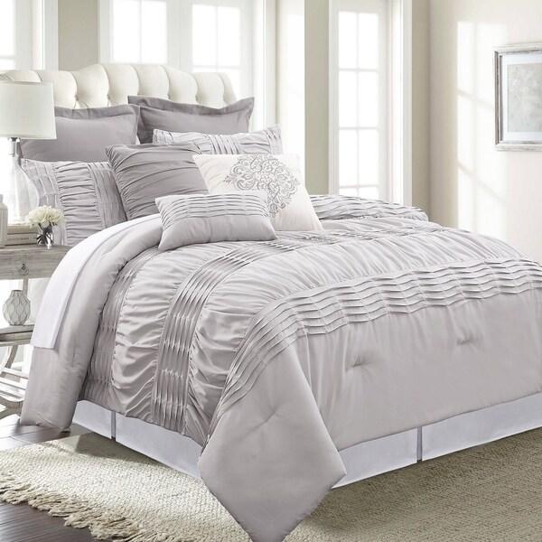 Amrapur Overseas Melrose 8-piece Embellished Comforter Set