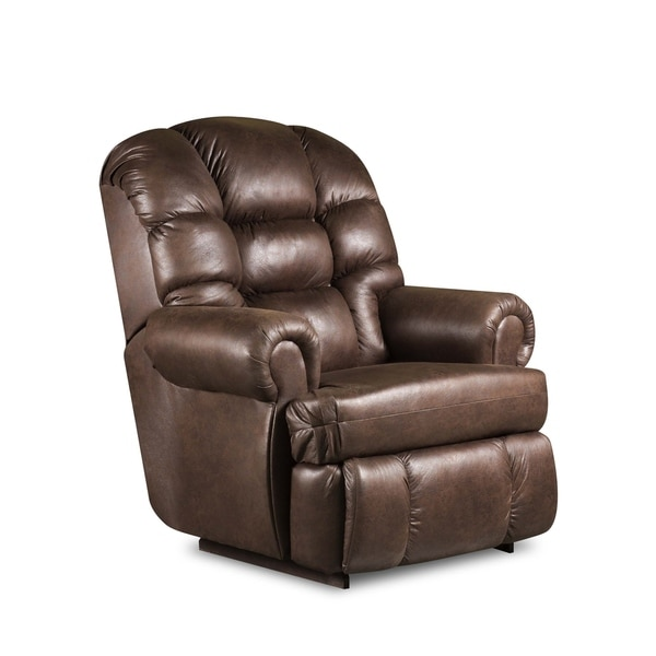 Shop Beaumont Faux Leather Big And Tall Rocker Recliner