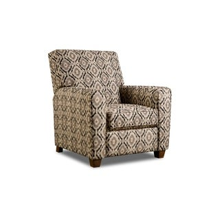 Brighton Ikat Recliner (Grey/ Beige) (2 options available)