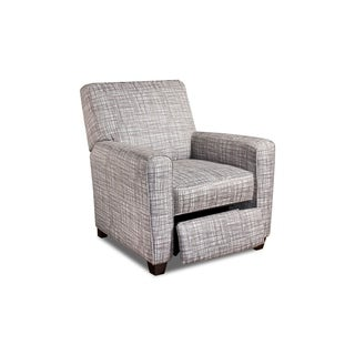 Brighton Silver Crosshatch Recliner
