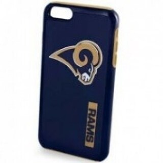 NFL Licensed Dual Hybrid Case for Apple iPhone 6 / 6S / 7 / 8 - Los Angeles Rams