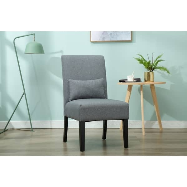 Wondrous Shop Porthos Home Fabric Upholstered Parson Style Accent Caraccident5 Cool Chair Designs And Ideas Caraccident5Info