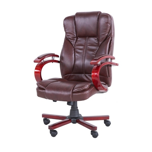 Office Executive PU Leather Swivel Adjustable Chair