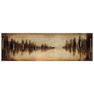 """Empire Art """"Passages"""" Primo Mixed Media Hand Painted Iron Wall Sculpture"""