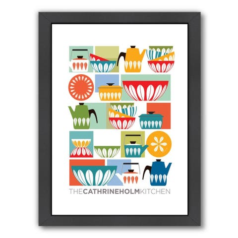Kitchen By Cathrine Holm - Framed Print Wall Art