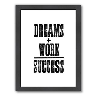 Link to Americanflat 'Dreams and Work Success' Framed Wall Art Similar Items in Art Prints