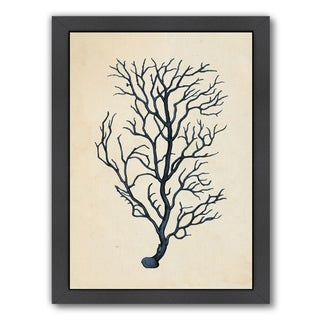 Link to Americanflat 'Blues Coral' Framed Wall Art Similar Items in Art Prints
