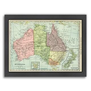 Americanflat 'Australia' Framed Wall Art