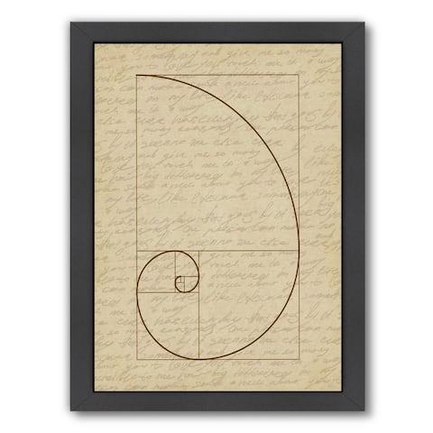 Americanflat 'Fibonacci 2' Framed Wall Art