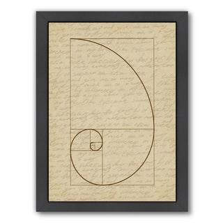 Link to Americanflat 'Fibonacci 2' Framed Wall Art Similar Items in Art Prints