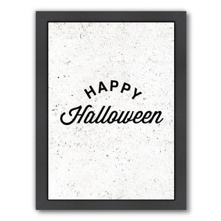Americanflat 'Happy Halloween' Framed Wall Art