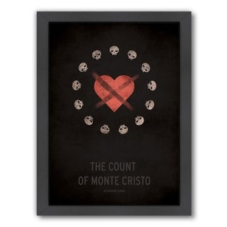 Americanflat 'The Count Of Monte Cristo' Framed Wall Art