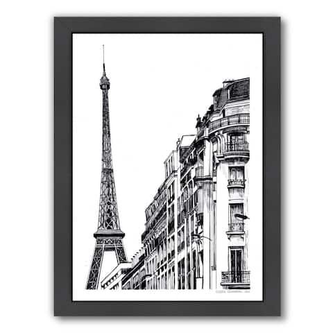 Americanflat 'Paris' Framed Wall Art