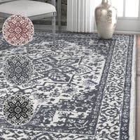 Well Woven Traditional Medallion Soft Area Rug - 7'10 x 9'10