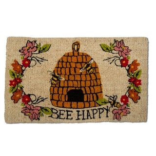 TAG Bee Happy Coir Mat