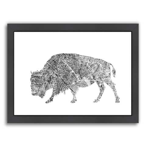 Americanflat 'Buffalo' Framed Wall Art