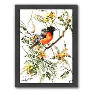 Americanflat 'Baltimore Oriole' Framed Wall Art (3 options available)