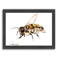 Americanflat 'Bee 6' Framed Wall Art