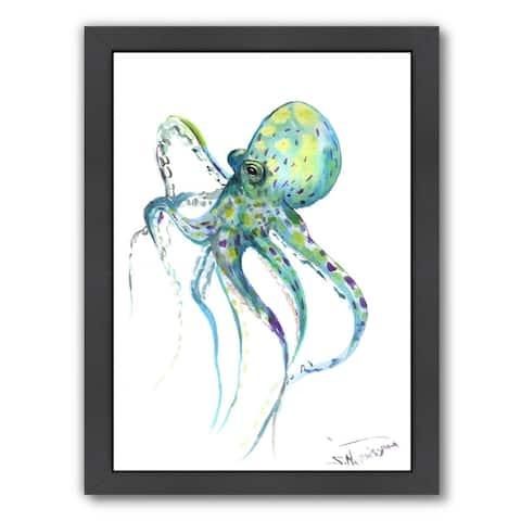 Americanflat 'Octopus' Framed Wall Art