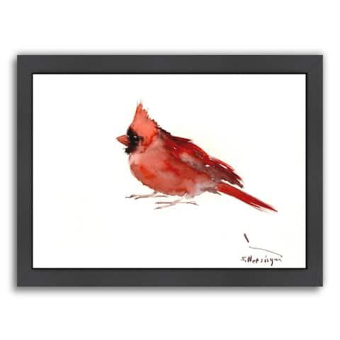 Americanflat 'Cardinal' Framed Wall Art