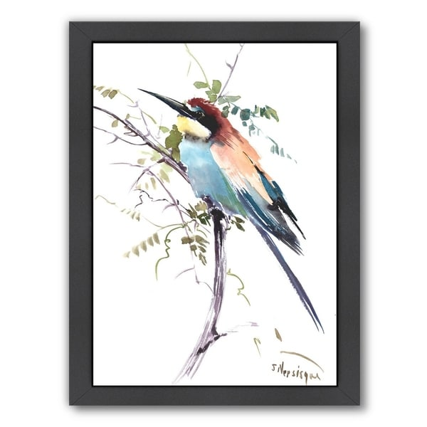 Americanflat \'European Bee Eater\' Framed Wall Art - Free Shipping ...