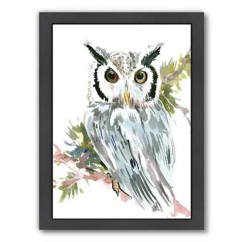 Americanflat 'Owl' Framed Wall Art